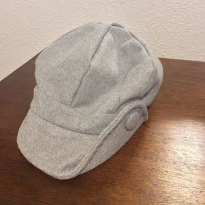 Magid Hats Gray Button Hat